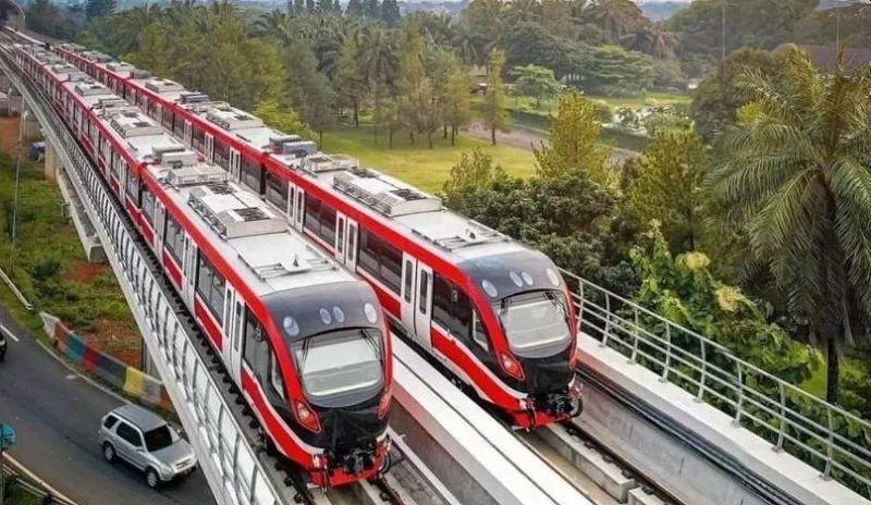 Uji Coba Sistem Persinyalan LRT Jabodebek Berjalan Mulus